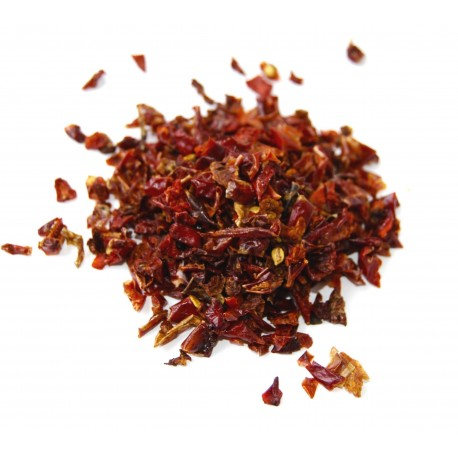 Saldi raudona paprika smulkinta 10x10 mm